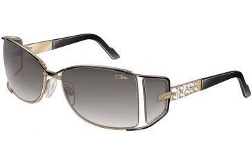 Cazal 9004 Sunglasses - 302 Black/Grey Gradient Lenses