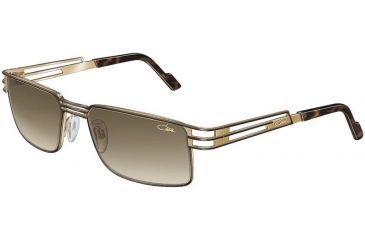Cazal 9005 Sunglasses - 978	Brown-Gold/Brown Gradient Lenses