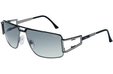382c9ab640 Cazal 9014 Sun Glasses with Black-Silver Frame