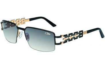 a344d11237d Cazal 9018 Sunglasses with Black Gold Frame and Grey Gradient Lenses 9018  001