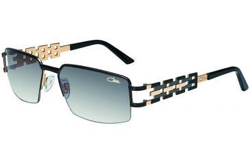 Cazal 9018 Sunglasses with 001 Black-Gold Frame