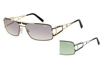 Cazal Cazal 9043 Sunglasses, Black-Silver, 61-17-135 9043-003