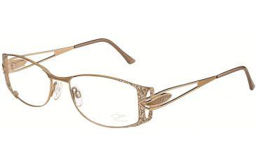 Cazal Womens 1051 Eyeglasses - Brown Frame w/ Clear Lenses, Size 54-17-135 1051-004