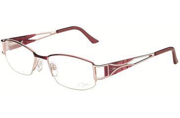 Cazal Womens 4182 Eyeglasses - Fuchsia Frame w/ Clear Lenses, Size 52-17-130 4182-003