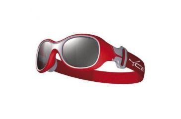 Cebe Chouka Kids Single Vision Rx Sunglasses Red Frame, CBCHOU3