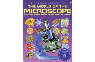Celestron 44402 The World Of The Microscope Book
