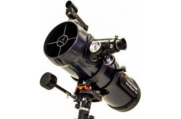 3-OpticsPlanet Exclusive Celestron AstroMaster 114EQ Telescope w/ Celestron Motor Drive 93514
