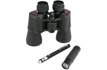 1-Celestron Green Laser Optical Kit - UpClose 10x50 Binoculars, Green Laser Pointer, Red LED Flashlight 72105