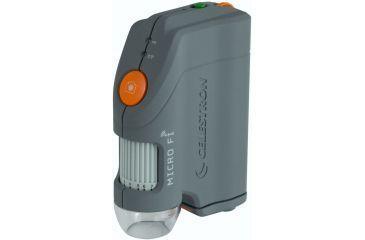 Celestron MIcroFi WiFi Handheld Microscope, Gray 44313