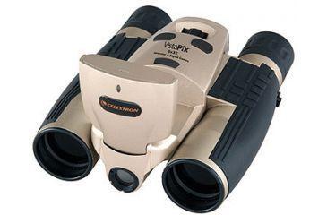 1-Celestron Vistapix 8x32 Binoculars 3.1 Megapixel Digital Camera with LCD 72214 Champagne