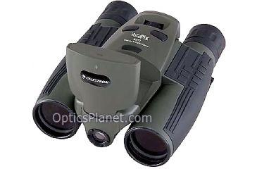 1-Celestron Vistapix 8x32 Digital Camera Binocular 3.1 MP w/ LCD - Hunter Green 72215