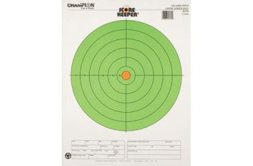 Champion Target 100yd Rifle Green Bull