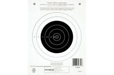 Champion Target 50 yd. Small Bore Rifle (Single Bull)