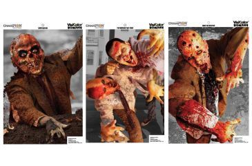Champion VisiColor Zombie Targets 6 Pack