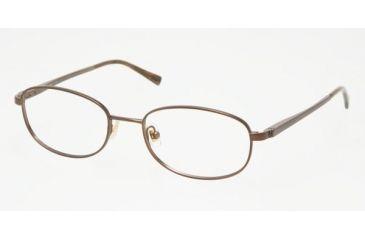 Chaps CP 2053 Eyeglasses Styles Dark Brown Frame w/Non-Rx 52 mm Diameter Lenses, 104-5218