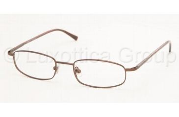 Chaps CP2007 Eyeglasses Styles -  Dark Brown Frame w/Non-Rx 49 mm Diameter Lenses, 104-4918