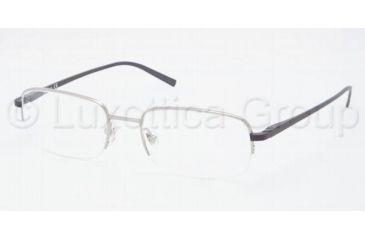 Chaps CP2070T Eyeglass Frames 352-5219 - Silver Navy