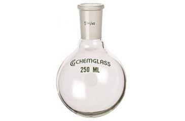 Chemglass Round-Bottom Boiling Flasks, Heavy Wall, Chemglass CG-1506-01