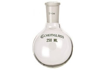 Chemglass Round-Bottom Boiling Flasks, Heavy Wall, Chemglass CG-1506-21