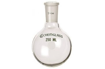 Chemglass Round-Bottom Boiling Flasks, Heavy Wall, Chemglass CG-1506-91