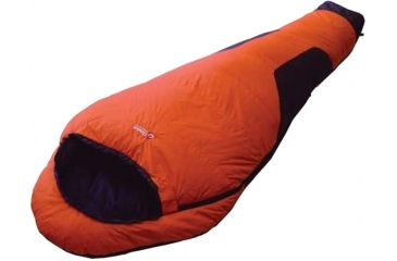 Chinook Polar Sleeping Bag Comfort Orange 100152