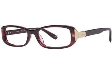 Chloe CL1175 Progressive Prescription Eyeglasses - Frame Brown Horn, Size 52/15mm CL117502