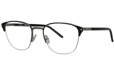 Chloe CL1180 Progressive Prescription Eyeglasses - Frame Black/silver CL118001