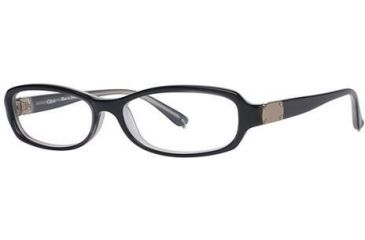 Chloe CL1195 Progressive Prescription Eyeglasses - Frame Black/Grey, Size 52/14mm CL119501