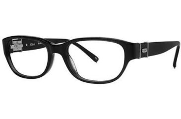 Chloe CL1202 Progressive Prescription Eyeglasses - Frame Black, Size 53/16mm CL120201