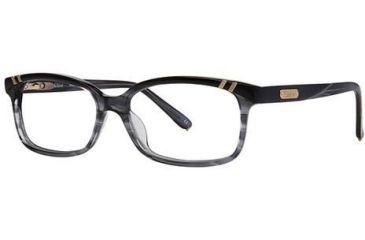 Chloe CL1204 Progressive Prescription Eyeglasses - Frame Black/Grey, Size 53/14mm CL120401
