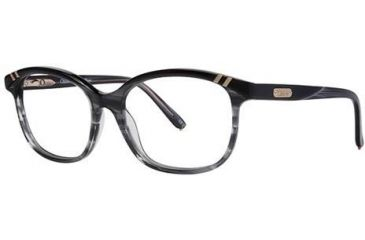 Chloe CL1205 Progressive Prescription Eyeglasses - Frame Black/Grey, Size 54/16mm CL120501