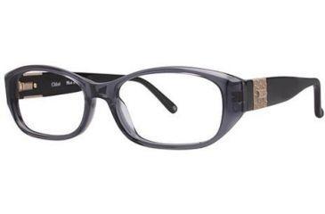 Chloe CL1216 Progressive Prescription Eyeglasses - Frame Black, Size 52/14mm CL121601