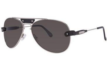 Chloe CL2204 Sunglasses - Frame Black, Lens Color Grey CL220401