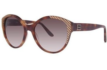 Chloe CL2247 Sunglasses - Frame Tortoise, Lens Color Gradient Brown CL224702