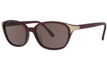 Chloe CL2250 Sunglasses - Frame Burgundy, Lens Color Solid Plum CL225003