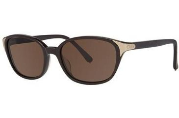 Chloe CL2250 Sunglasses - Frame Chocoloate, Lens Color Solid Brown CL225002