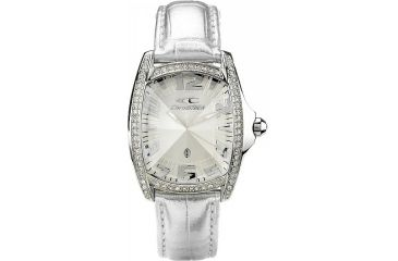 Chronotech Reloaded 7988 Ladies Watch - Silver Band, White Face Ct.7988ls/11
