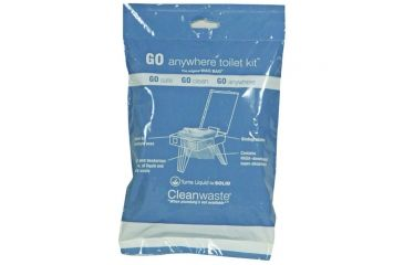 Cleanwaste Go Anywhere Waste Kit 100 Pk D007W00