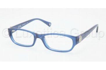 Coach CADYN HC6008 Single Vision Prescription Eyeglasses 5028-5117 - Blue