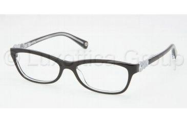c590e3f8700 Coach ELISE HC6014 Eyeglass Frames 5048-4815 - Black Crystal