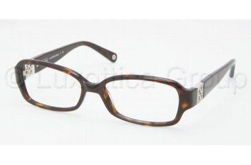 b51ee4a6a5 Coach GLORIA HC6007B Eyeglass Frames 5001-5416 - Dark Tortoise