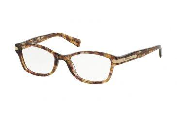 47e55407dc06 Coach HC6065 Eyeglass Frames 5287-51 - Confetti Light Brown Frame
