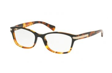 04b6db6181 Coach HC6065 Progressive Prescription Eyeglasses 5438-51 - Black Tortoise  Tortoise Frame