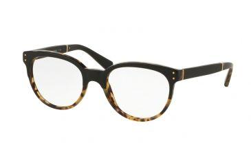 4a01c6a2f6a Coach HC6084QF Eyeglass Frames 5382-52 - Black Tortoise Black Frame