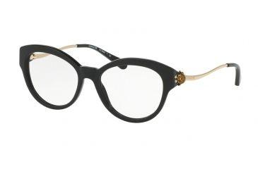 cff685d83a13 Coach HC6093 Single Vision Prescription Eyeglasses 5308-52 - Black Light  Gold Frame