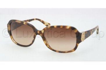 Coach L019 ALLIE HC8015 Sunglasses 504513-5817 - Spotty Tortoise Brown Gradient