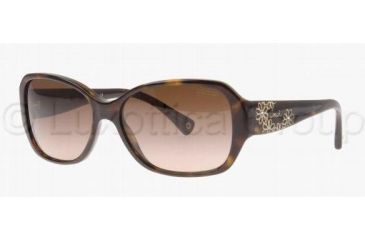 Coach L022 REESE HC8011B Sunglasses 500113-5715 - Tortoise Brown Gradient