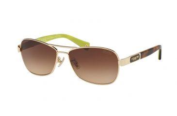 7b4f66808df9 Coach L038 CAROLINE HC7012 Single Vision Prescription Sunglasses  HC7012-910013-56 - Lens Diameter