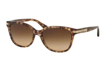 c820ef824254 Coach L109 HC8132 Sunglasses 528713-57 - Confetti Light Brown Frame, Brown  Gradient Lenses