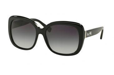 ff8ef34ef15 Coach L139 HC8158 Sunglasses 500211-58 - Black Frame